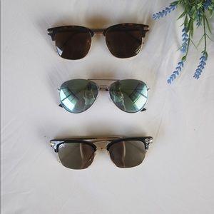 Brown tortoise pattern sunglasses, Forever21
